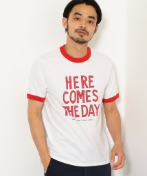 green label relaxing/[ザデイオンザビーチ]  SC★ THE DAY ON THE BEACH  HERECOMES R Tシャツ/501079652