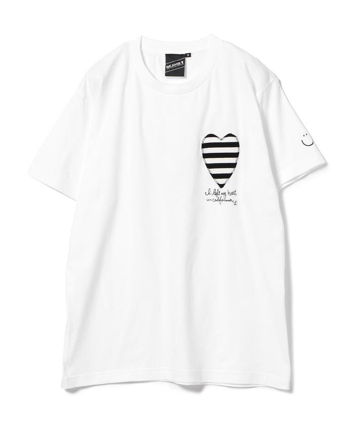 special price palm graphics left my heart tee 501080021