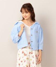 MIIA/抜き襟シャツジャケット/501066222