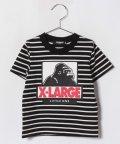 XLARGE KIDS/ボーダーOGゴリラTシャツ/501070509