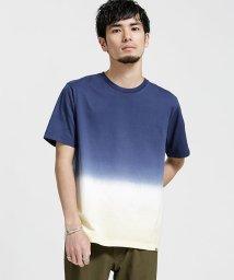 nano・universe/グラデーションディップダイTシャツ/501070250