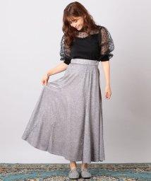 MIIA/キラキラAラインスカート/501078630