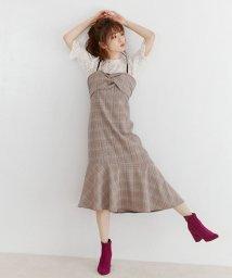 MIIA/フロントねじりキャミワンピース/501078632