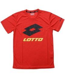 lotto/ロット/キッズ/ジュニア 半袖ビックロゴTシャツ/501080208