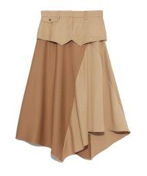 emmi atelier/【emmi atelier】ベルト付きスカート/501080600