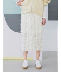 emmi atelier/【emmi atelier】シースルージャカードスカート/501080603