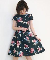 31 Sons de mode/花柄フィット&フレアワンピース/501081269