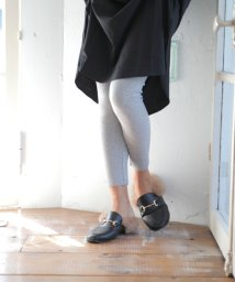 RINORINO./履き心地抜群♪リブレギンス スパッツ ボトムス パンツ 足長効果 スリム効果 レディース スキニー パンツ ブラック グレーネイビー ルームウェア 部屋着 ヨガ/501081274