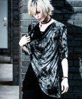 BERNINGS-SHO/Bernings Sho【バーニングショー】ムラ染めドレープTシャツ/501081342