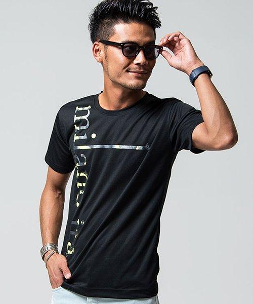 VIOLA(ヴィオラ)/VIOLA【ヴィオラ】プリント入りクルーネック半袖Tシャツ/A81343