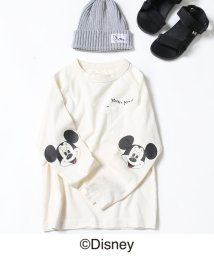 coen/【2018FW・coen キッズ / ジュニア】コーエン限定Disney(ディズニー)MICKEY(ミッキー)ロゴTシャツ/501081535