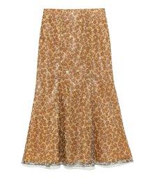 Lily Brown/スパンコールマーメイドスカート/501081914