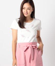 MISCH MASCH/ブーケ刺繍Tシャツ/501030184
