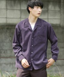 JUNRed/コールオープンカラーシャツ/501082444