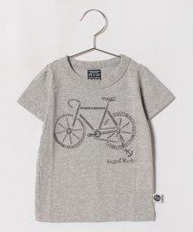 RUGGEDWORKS/英ロゴ自転車半袖T/501076396