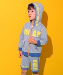 ANAP KIDS/【セットアップ対応商品】裏カラーパーカー/501080725