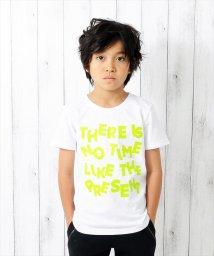 GLAZOS/ネオンカラープリント半袖Tシャツ/501083238