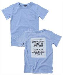 GLAZOS/バックプリント半袖Tシャツ/501083239