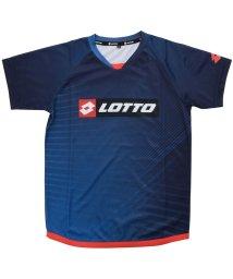 lotto/ロット/キッズ/ジュニア半袖プラクティスシャツ 昇華/501083573