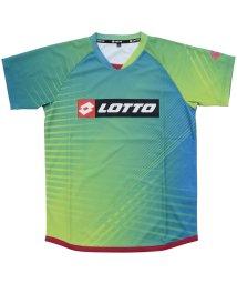 lotto/ロット/キッズ/ジュニア半袖プラクティスシャツ 昇華/501083577