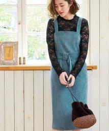 ROPE' PICNIC/【WEB限定】コーデュロイジャンパースカート/501083848