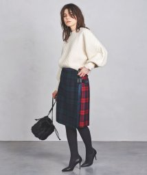 UNITED ARROWS/<O'NEIL of DUBLIN>パッチワーク スカート 18FW †/501084928