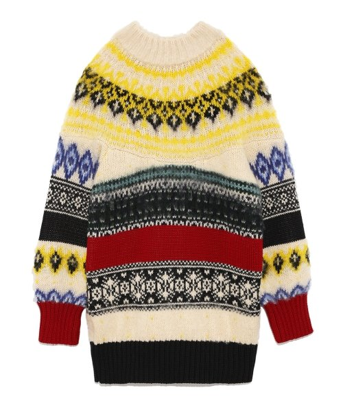 MIXノルディックセーター