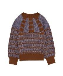 FURFUR/モノクロノルディックセーター/501085971