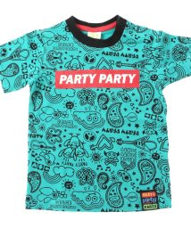 BREEZE / PARTY PARTY /単色総柄Tシャツ/500990753