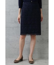 NATURAL BEAUTY BASIC/〈ウォッシャブル〉フラワーリーフレースタイトスカート/501086136