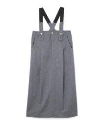 ROSE BUD/サスペンダー付きスカート/501086356