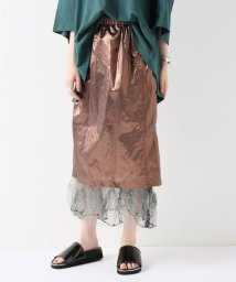 JOURNAL STANDARD/【PONTI/ポンティ】TISSUE LAME:スカート/501088304