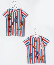 BREEZE / JUNK STORE/MARVELストライプTシャツ/501078374