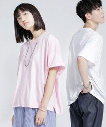 nano・universe/【WEB限定】GILDANビックシルエットリメイクTシャツ/501079249