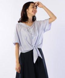 NOLLEY'S/スビンギザ天竺裾結びプルオーバーカットソー/501079686