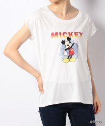 NICE CLAUP OUTLET/【every very nice claup】宇宙ロックミッキーTシャツ/501080452