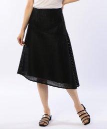 NOLLEY'S sophi/シースルーアシンメトリースカート/501082269
