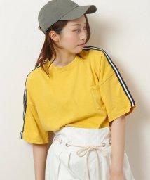 framesRayCassin/ピグメント加工ライン入りTシャツ/501089961