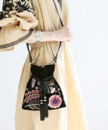 SLOBE IENA/《予約》SARA MALLIKA 刺繍ショルダーバッグ◆/501089963
