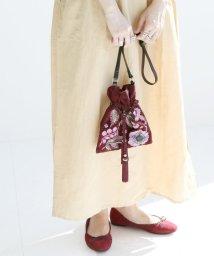 SLOBE IENA/SARA MALLIKA 刺繍ショルダーバッグ◆/501089963