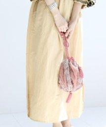SLOBE IENA/SARA MALLIKA 刺繍巾着バッグ◆/501089964