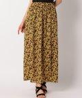 SHIPS WOMEN/Prefer SHIPS: フローラルパターンロングスカート/501090121
