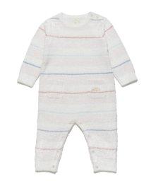 gelato pique Kids&Baby/'スムーズィー'マルチボーダー baby ロンパース/501090911