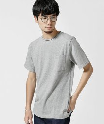 nano・universe/衿配色リブTシャツ/501086952