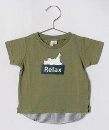 LAGOM/ボックスロゴプリントTシャツ/501069855
