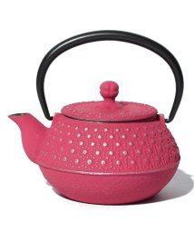 Afternoon Tea LIVING/【WEB限定】南部鉄器/鉄瓶 亀甲あられ/501079197