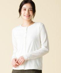 Leilian/【特別提供品】コットン混カーディガン/501035984