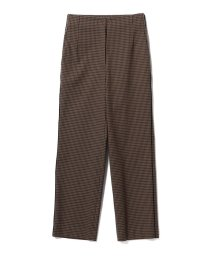 BEAMS OUTLET/【カタログ掲載】Demi-Luxe BEAMS / サイドライン チェックパンツ/501072021