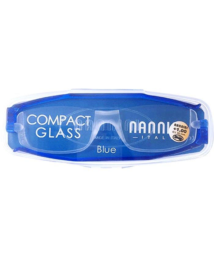 バックヤードファミリー NANNINI ナンニーニ コンパクトグラス2 ユニセックス ブルー +2.5 【BACKYARD FAMILY】