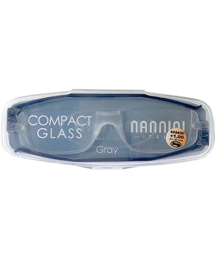 バックヤードファミリー NANNINI ナンニーニ コンパクトグラス2 ユニセックス グレー +1 【BACKYARD FAMILY】